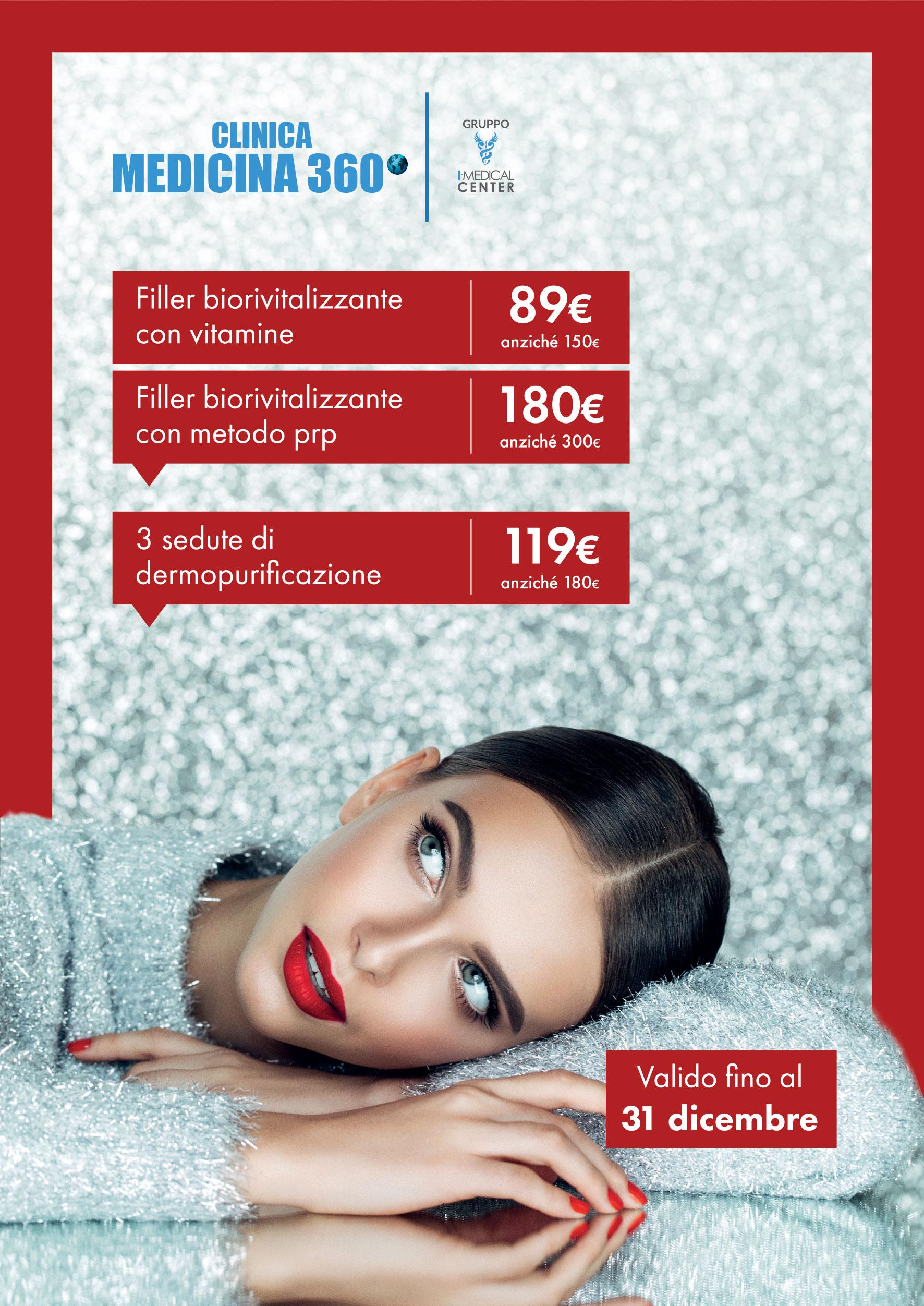 Medicina360 promo estetica dicembre